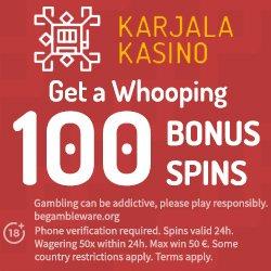 Cashmio-100% bonus up to €100 + 100 free spins