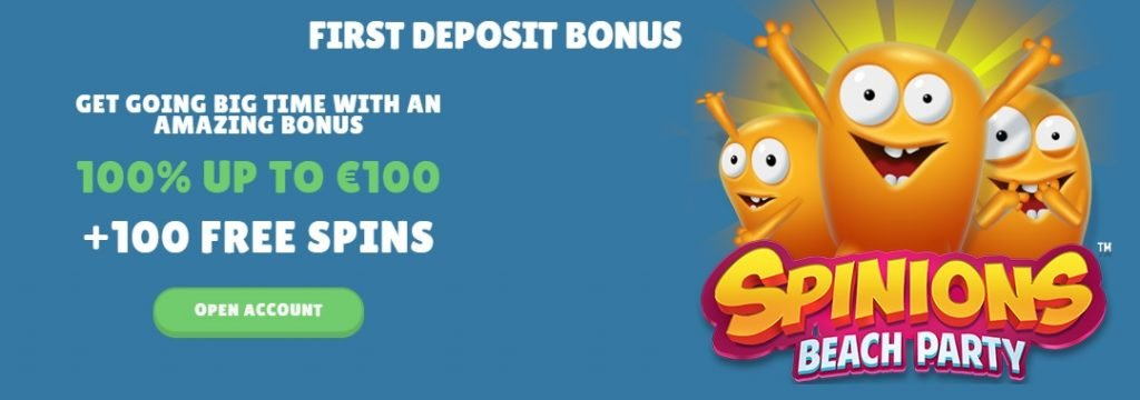 Cashmio-100% bonus up to €100 + 100 free spins
