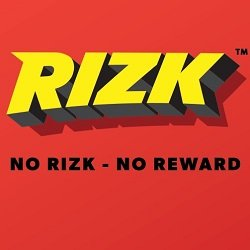Rizk-100% first deposit bonus up to €100 + 50 free spins