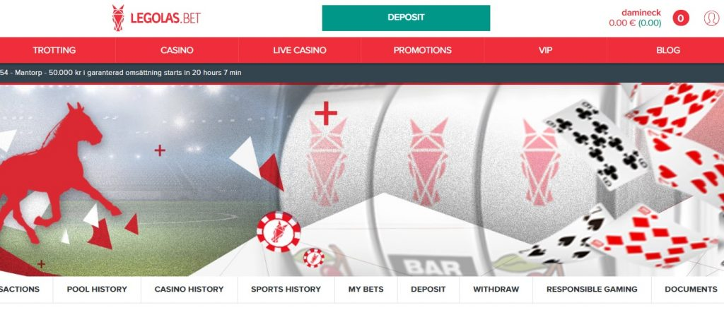 LegolasBet- 150 free spins + 150% Bonus up to 300 Euro