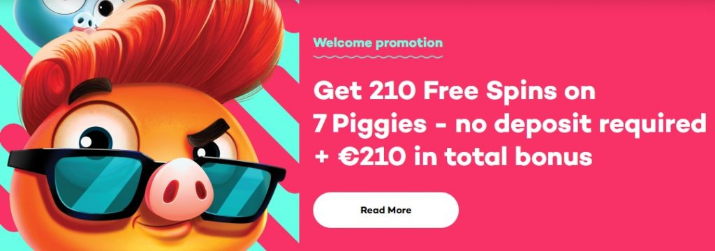 21.com-Get 210 free spin on registration