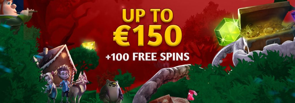 Slotsons - Welcome Bonus 150€ + 100 free spins