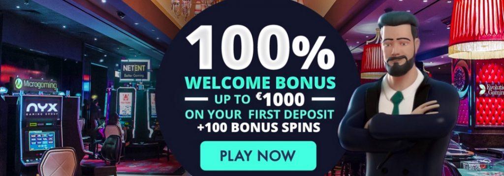 Jonny Jackpot - 100% bonus up to 1.000 € + 100 free spins
